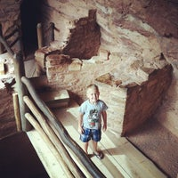 Photo taken at Manitou Cliff Dwellings by Alicia C. on 8/3/2012