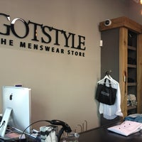 Photo taken at GOTSTYLE Menswear by Kal M. on 3/21/2012