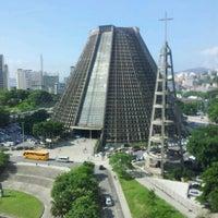 Photo taken at Catedral Metropolitana de São Sebastião by Daniel P. on 4/17/2012