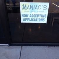 Photo taken at Maniac's by Nathan G. on 3/6/2012