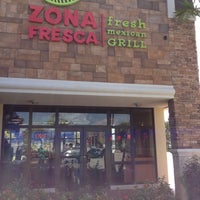 Photo taken at Zona Fresca by Mike F. on 3/11/2012