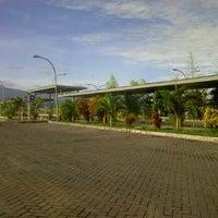 Photo taken at Area Parkir Manado Town Square by Manado on 3/19/2012