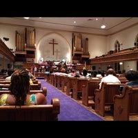 Photo taken at Metropolitan AME Church by Rev. L. on 6/16/2012