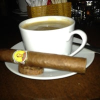 Photo taken at Le Gray Hotel's Cigar Lounge by Woody on 7/7/2012