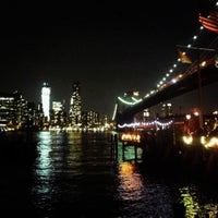 Photo taken at Under The Brooklyn Bridge by Herman 👑 O. on 7/13/2012
