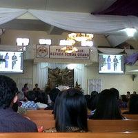 Photo taken at GMIM Getsemani Sario Kota Baru by gaby t. on 4/15/2012