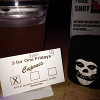 Photo taken at CAPONE'S by Melina C. on 8/25/2012