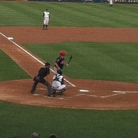 Photo taken at Arm & Hammer Park by Frank M. on 8/7/2012