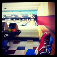 Photo taken at Pla-Mor Lanes by Laura T. on 5/18/2012