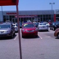 Photo taken at Crown Nissan of Greenville by Lauren M. on 5/25/2012