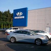Photo taken at Key Hyundai by Reece on 7/5/2012