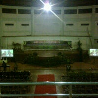 Photo taken at Gedung Kesenian & Olahraga Kabupaten Bogor by Adibah A. on 5/4/2012