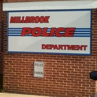 Photo taken at Millbrook Police Department by Jeanna H. on 3/17/2012