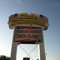 Photo taken at Dixie Stampede by Russ M. on 8/21/2012