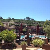 Photo taken at Meritage Resort and Spa pool by Kinsie F. on 8/17/2012