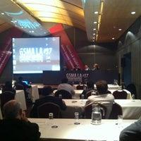 Photo taken at GSMA Latin America #37 by Javier C. on 4/23/2012
