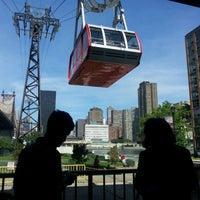 Photo taken at Roosevelt Island Tram (Manhattan Station) by Ruth A. on 5/11/2012
