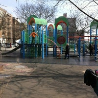 Photo taken at Brighton Playground by Y K. on 3/18/2012