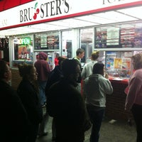 Photo taken at Brusters Ice Cream by Jim P. on 3/12/2012