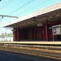 Photo taken at Deansgate Railway Station (DGT) by Nauf M. on 5/21/2012
