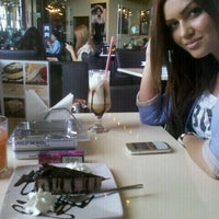 Photo taken at Einstein Cafe by Alexandra I. on 5/9/2012