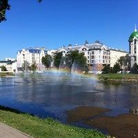 Photo taken at Парк «Чёрное озеро» by Артур on 8/20/2012