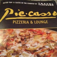Photo taken at Piecasso Pizzeria & Lounge by Michael C. on 8/9/2012