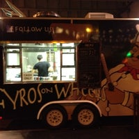 Photo taken at Gyros On Wheels by David H. on 9/3/2012