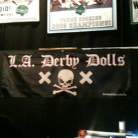 Photo taken at Doll Factory (L.A. Derby Dolls) by noho arts district on 4/29/2012