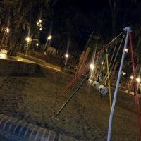 Photo taken at Plaza 9 de Julio by Diego B. on 8/12/2012