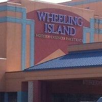 Photo taken at Wheeling Island Hotel-Casino-Racetrack by Sarah S. on 6/9/2012
