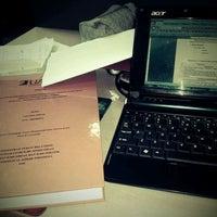Photo taken at Perpustakaan Mandiri Universitas Al Azhar Indonesia by nina s. on 3/19/2012