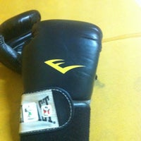 Photo taken at CENTERBASE Muaythai Camp by Riany T. on 9/11/2012