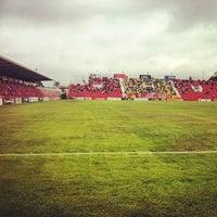 Photo taken at Estádio Mun. Pref. José Liberatti by Werner F. on 5/18/2012