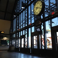 Photo taken at Metro North - South Norwalk Train Station by Joe M. on 2/19/2012