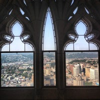 Photo taken at Cathedral of Learning by Kyle W. on 7/31/2012