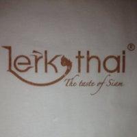 Photo taken at Lerk Thai by Barry E. on 7/4/2012