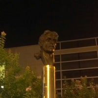 Photo taken at Frank Zappa Statue by Matt K. on 7/1/2012