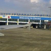 Photo taken at Francisco Bangoy International Airport (DVO) by Ashley Robert C. on 8/16/2012