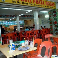 Photo taken at The Roti Prata House by Hans R. on 8/22/2012
