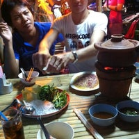 Photo taken at ร้านอาหาร ลาบเป็ดบ้านไผ่ อ่อนนุช 46 by Surapol K. on 5/5/2012