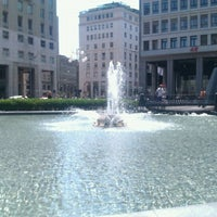 Photo taken at Piazza San Babila by Leli V. on 5/29/2012