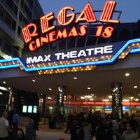 Снимок сделан в Regal Cinemas New Roc 18 IMAX & RPX пользователем Auris P. 5/6/2012