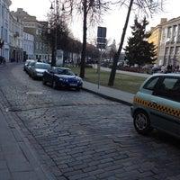 Photo taken at Vokiečių gatvė by Rimas B. on 4/12/2012