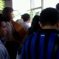 Photo taken at Halte TransJakarta Bermis by Wahyu R. on 5/26/2012