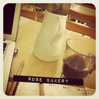 Photo taken at Rose Bakery by Michelle C. on 2/23/2012