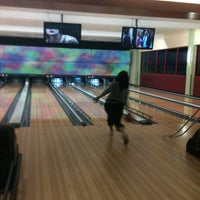 Photo taken at Celebrity Lanes Bowling by Stephanie H. on 2/10/2012