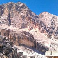 Photo taken at Rifugio ra valles by Zander A. on 8/19/2012