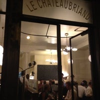 Photo taken at Le Chateaubriand by Mithra S. on 8/10/2012