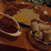 Foto scattata a Lalibela Ethiopian Restaurant da Rohit K. il 4/22/2012